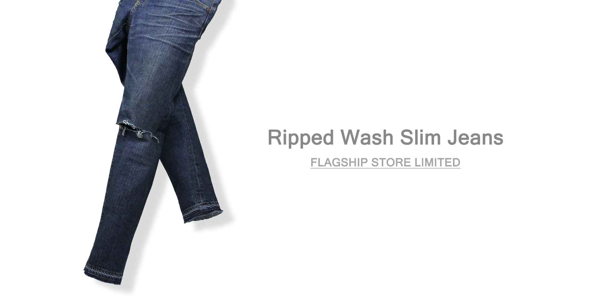 wjk ripped wash slim jeans